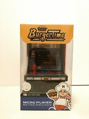 My Arcade BurgerTime Micro Player Retro Toy Bnew Best Christmas Gift