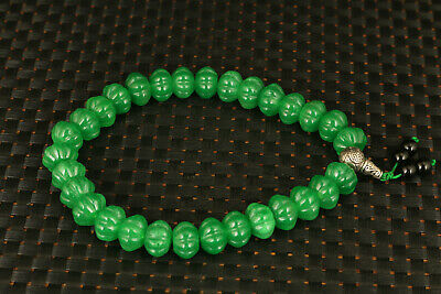 exquisite Chinese Handwork Natural Jade jadeite Bracelet Collectible noble gift