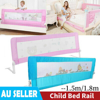 Baby Bedrail Safety Bed Rail Cot Guard Protection Child Toddler Kid 1.5m/1.8m AU