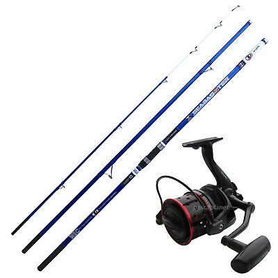 KP4242 Kit Pesca Surfcasting Evo Canna Seabasster Mulinello Shamal  CASG