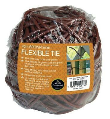 135g Original Flexible Tie 40m x 3mm Plant Tie Durable Strong W0578