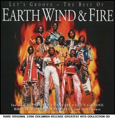 Earth Wind & Fire - Best Greatest Hits Collection - RARE 1996 Disco Funk Soul CD