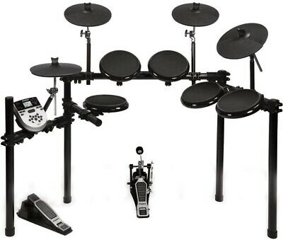 Alesis DM7X Session Kit Five-Piece Compact Electronic Drum Set (Missing Stand)