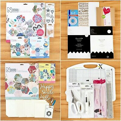Natural History Museum Craft Paper Collection & Essential Craft Tool Bundle