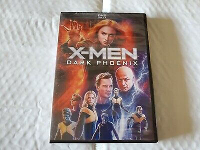 X-Men Dark Phoenix (DVD, 2019) New and Sealed Free Shipping USA!