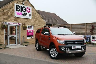 2015 Ford Ranger Wildtrak Tdci 200 4X4 Double Cab With Truckman Top Pick Up Dies