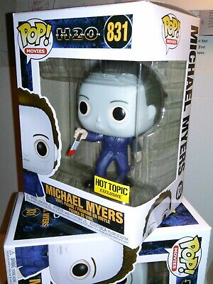 Funko Pop*FREE Protector* Movies Halloween H20-Michael Myers#831 Hot Topic Excl