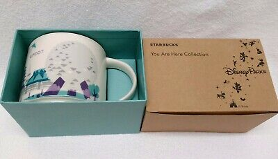 Starbucks Disney Epcot You are Here Mug -- New in Box