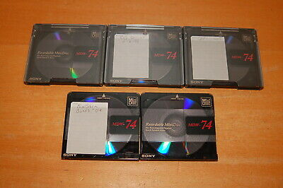 Sony Recordable MD Mini Disc - 74 Minutes - MDW74