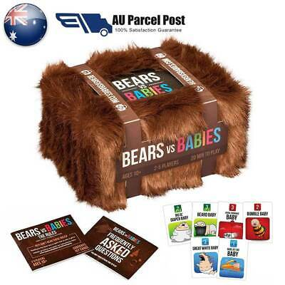 New Bears vs Babies: A Card Game from the Creators of Exploding Kittens GXZ AU