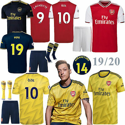 2020 Football New Season Full Kits Soccer Jersey Strip Kids Youth Outfits+Socks