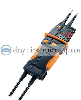 testo 750-3 Voltage tester 0590 7503  LC display showing the reading
