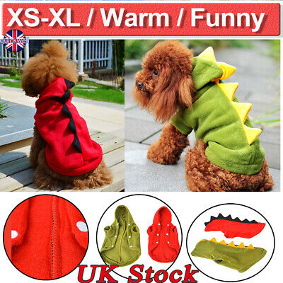 UK Winter Dog Coats Pet Cat Puppy Chihuahua Clothes Hoodie Warm for Small Dog