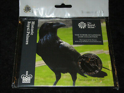 £5 Coin The Legend Of The Ravens 2019 The Tower Of London Collection  Bu Sealed