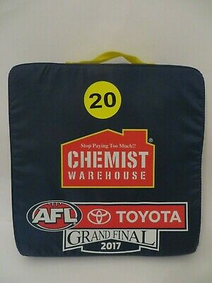2017 AFL Grand Final Richmond Tigers vs Adelaide Crows Seat Cushion