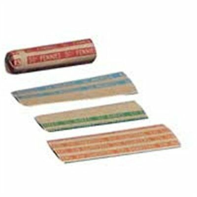 Sparco Flat $5.00 Dimes Coin Wrapper - 1000 Wrap[s] - 60 Lb Paper Weight - Kraft