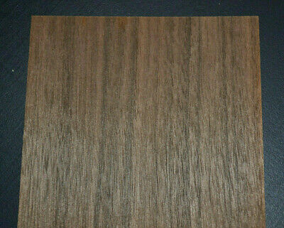 Queensland Walnut Raw Wood Veneer Sheets 4 x 43 inches1//42nd thick    E8315-26