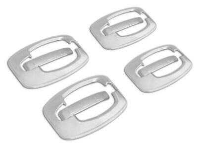 Chrome Door Handle Protectors 4dr Fiat Ducato 2006-2014