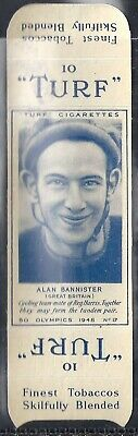 Carreras-Uncut Single Turf Slide-Olympics-#17- Cycling - Alan Bannister