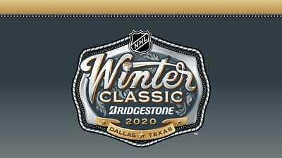 2020 NHL Winter Classic - 2 Tickets Together - Lower Bowl Section 31, Row 17