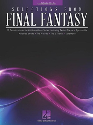 Hal Leonard Publishing Corp...-Selections From Final Fantasy BOOK NEW