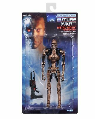 "NECA Terminator 2 Kenner Tribute METAL MESH ENDOSKELETON 7"" Scale Action Figure"