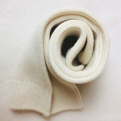 VAST LAND 100% Cashmere Bed Socks  Soft white