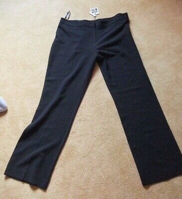 release info on wholesale price outlet store DEBENHAMS COLLECTION - Black Trousers - Size 14 - Textured ...