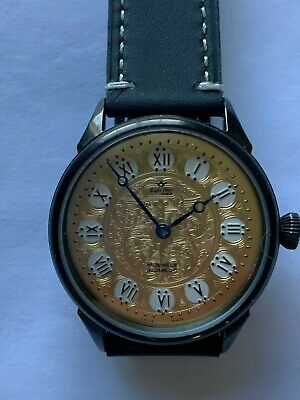 Marriage Watch 6497 no.9 17J Runs Custom Dial pocket watch conversion
