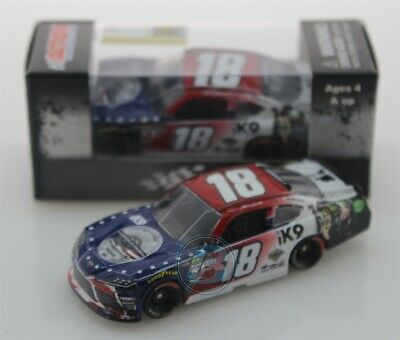 2019 JEFFERY EARNHARDT #18 iK9 Patriotic 1:64 Action In Stock Free Shipping