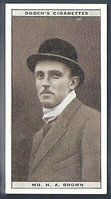 Ogdens-Steeplechase Celebrities-#04- Top Quality Horse Racing Card!!!