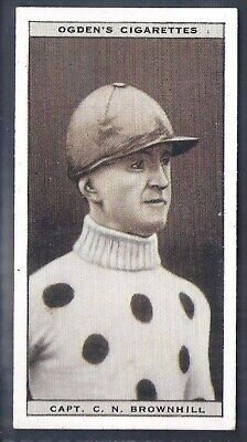 Ogdens-Steeplechase Celebrities-#05- Top Quality Horse Racing Card!!!
