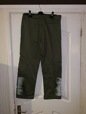 Maharishi Girls Olive Snopants With Feather Embroidery Age 12!!