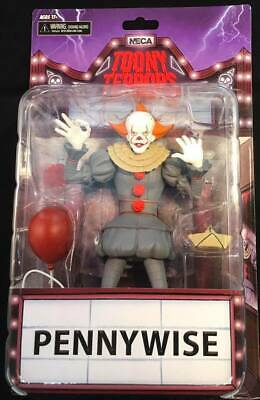 "NECA Toony Terrors IT movie 2017 PENNYWISE clown 6"" Scale Action Figure =FREE SH"
