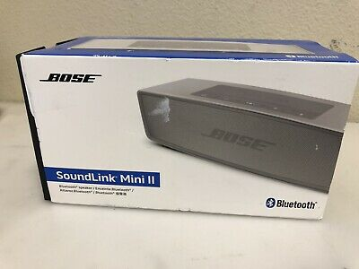 Bose SoundLink Mini Bluetooth Speaker II (Pearl) AC