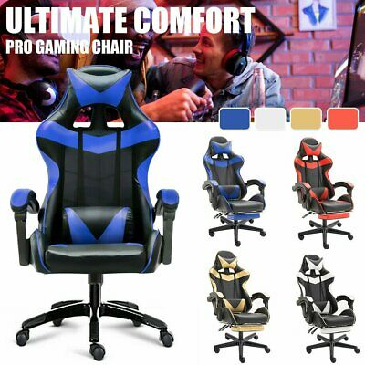 Gaming Chair Office Chair Computer Executive Chairs Seating Racing Racer