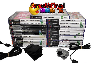 Eye Toy PS2 Playstation 2 Ultimate Dropdown Selection PAL Games Eyetoy