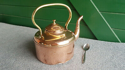 Antique Copper Kettle. Great Decorating Piece For Your Cottage.