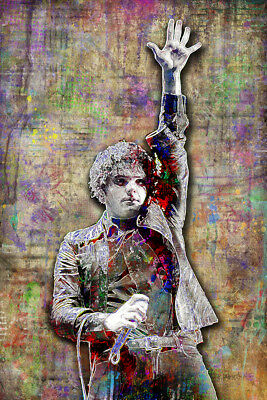 K173 My Chemical Romance Pop Art Deco Poster Wall Fabric New
