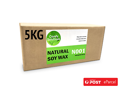 5kg Professional Grade 100% Natural Soy Wax GW 464 Candle Making Supplies Crafts
