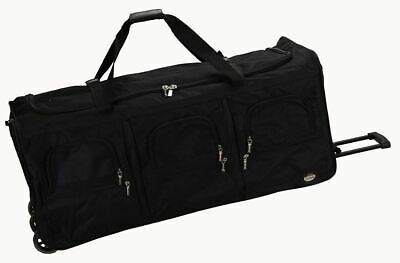 40 Duffle Bag With Wheels XL Rolling Luggage Men Women Travel Handle Soft Sided