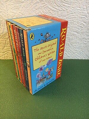Roald Dahl  10 Book Boxed Set Great Condition