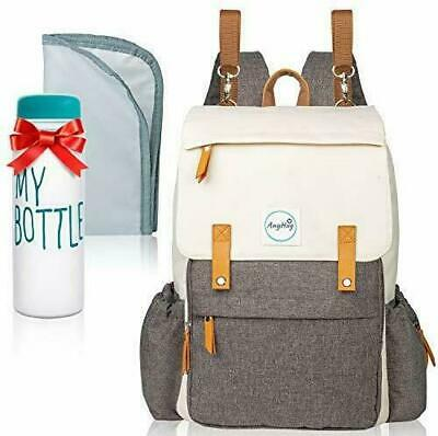 Baby Diaper Bag Backpack Large Multi-Function Diaper Back Pack with Changing Pad