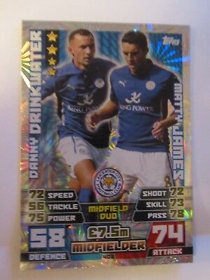Match attax 2014//15 trading cards Leicester city-base 128-144
