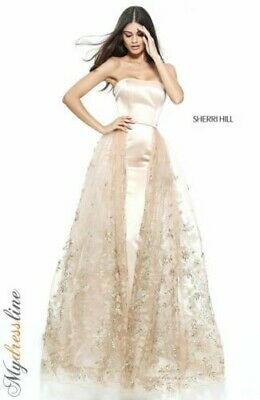 Sherri Hill 51244 Long Evening Dress ~LOWEST PRICE GUARANTEE~ NEW Authentic Gown