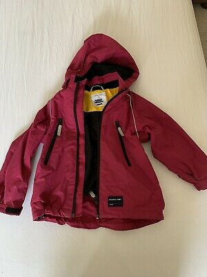 POLARN O PYRET Waterproof SHELL JACKET Pink AGE 5-6 Years 110
