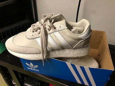 Adidas Originals I-5923 Mens Size 10 White Beige Running Shoes Boost New In Box