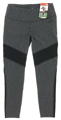 The North Face Womens Motivation Mesh Dark Gray Heather Leggings Size Large