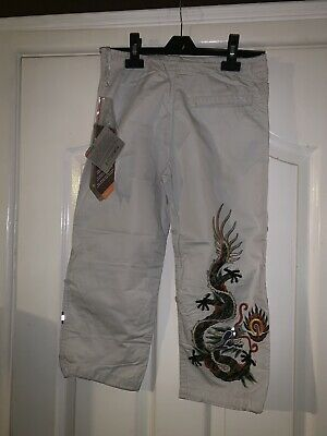 Maharishi Stone Snopants With Original Dragon Embroidery Age 6-7!! Visit R Store