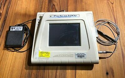 SONOMED Pacscan 300P PachymeterUltrasound + Probe + foot pedal + ac adapter
